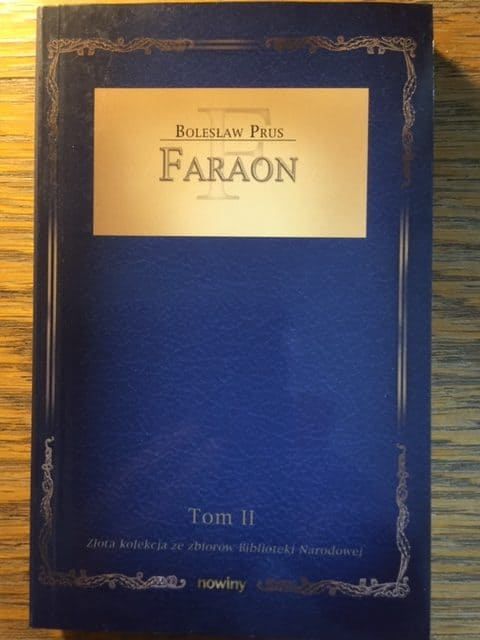 Image of Book Cover Faraon Tom II by Bolesław Prus