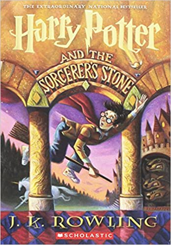 Harry Potter And The Sorcerers Stone by J.K.Rowling