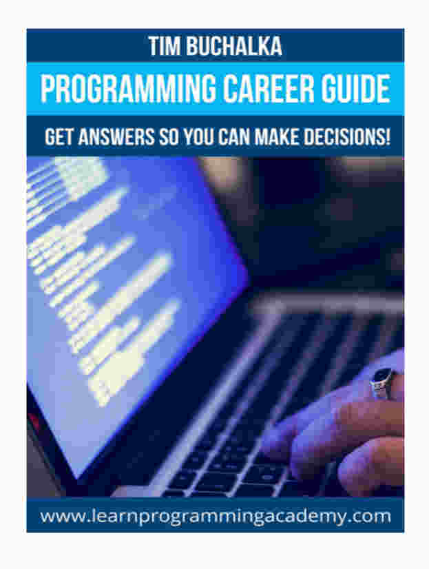 Programming Career Guide by Tim Buchalka