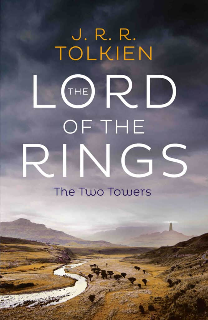 Book The Lord of the Rings The Two Towers by Author J.R.R.Tolkien