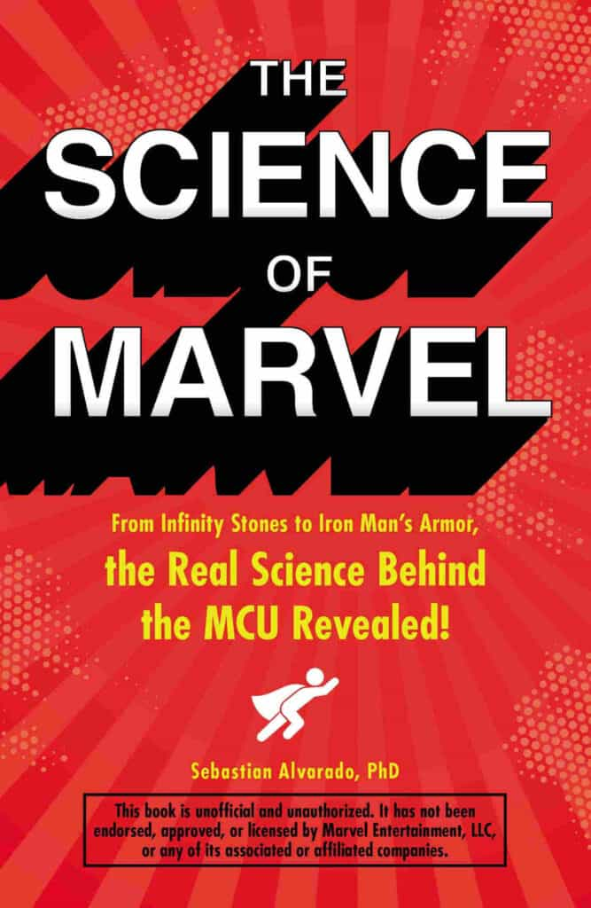 Book The Science of Marvel by Author Sebastian Alvarado