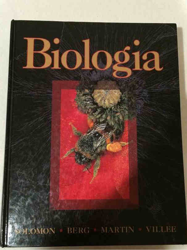 Book Cover Biologia by Villee