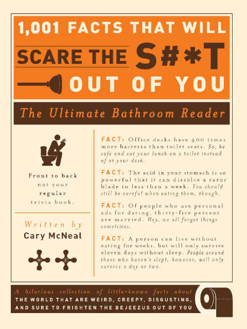 Book Cover of 1001 Facts That Will Scare the S#*T Out of You by Cary McNeal